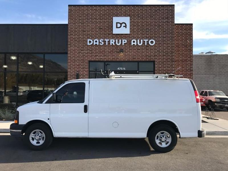 2008 Chevrolet Express Cargo for sale at DASTRUP AUTO in Lindon UT
