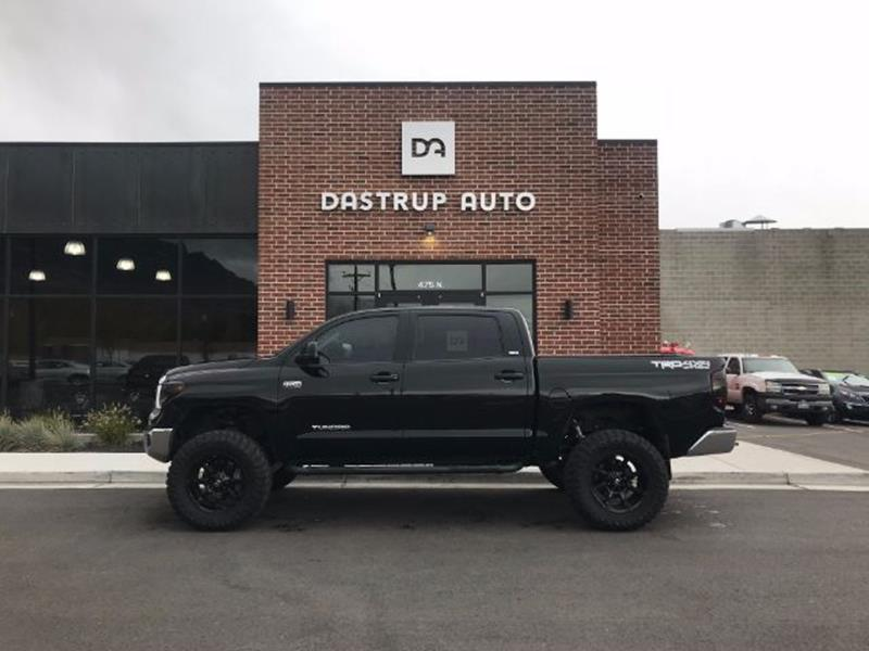 2015 Toyota Tundra for sale at DASTRUP AUTO in Lindon UT