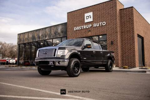 2012 Ford F-150 for sale at Dastrup Auto in Lindon UT