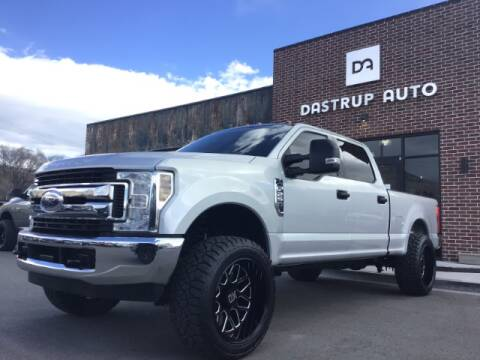 2018 Ford F-250 Super Duty for sale at Dastrup Auto in Lindon UT