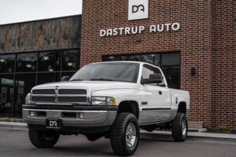 2001 Dodge Ram Pickup 2500 for sale at Dastrup Auto in Lindon UT