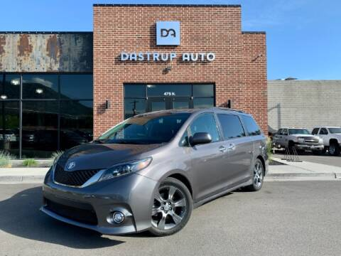 2016 Toyota Sienna for sale at Dastrup Auto in Lindon UT