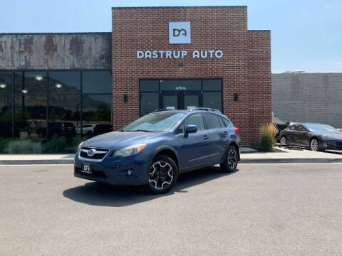 2013 Subaru XV Crosstrek for sale at Dastrup Auto in Lindon UT