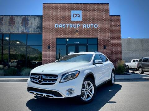 2020 Mercedes-Benz GLA for sale at Dastrup Auto in Lindon UT