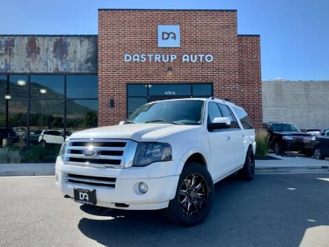 2014 Ford Expedition EL for sale at Dastrup Auto in Lindon UT