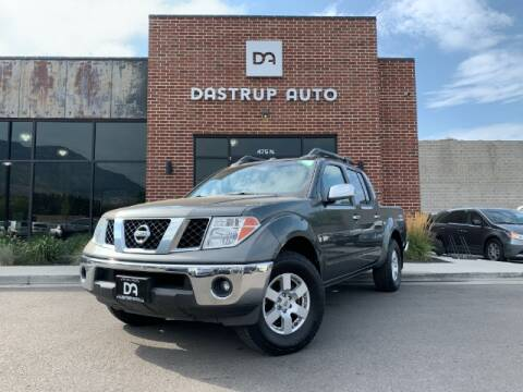 2006 Nissan Frontier for sale at Dastrup Auto in Lindon UT
