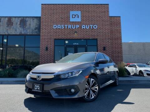 2016 Honda Civic for sale at Dastrup Auto in Lindon UT