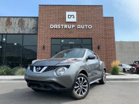 2017 Nissan JUKE for sale at Dastrup Auto in Lindon UT