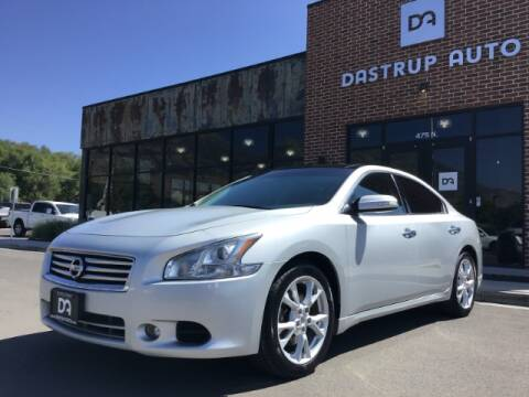 2014 Nissan Maxima for sale at Dastrup Auto in Lindon UT