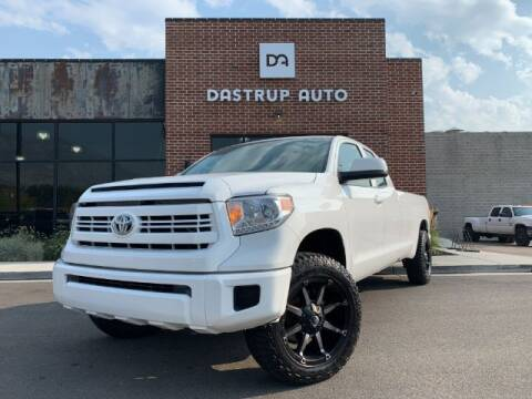 2017 Toyota Tundra for sale at Dastrup Auto in Lindon UT