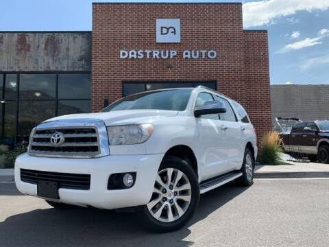 2014 Toyota Sequoia for sale at Dastrup Auto in Lindon UT