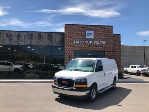 2017 GMC Savana Cargo for sale at Dastrup Auto in Lindon UT