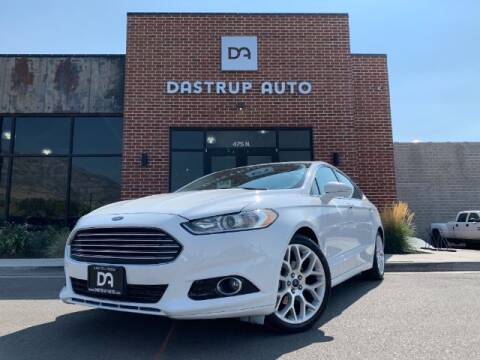 2014 Ford Fusion for sale at Dastrup Auto in Lindon UT