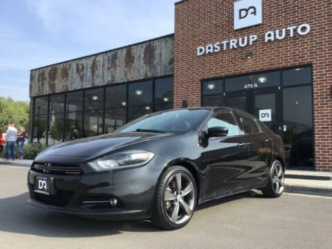 2014 Dodge Dart for sale at Dastrup Auto in Lindon UT
