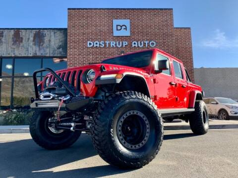 2020 Jeep Gladiator for sale at Dastrup Auto in Lindon UT