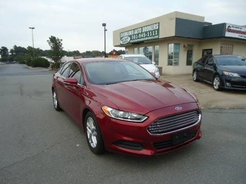 2016 Ford Fusion for sale in Sherwood, AR