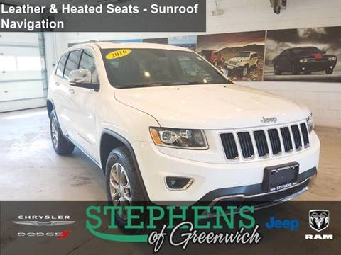 2016 Jeep Grand Cherokee for sale in Greenwich, NY