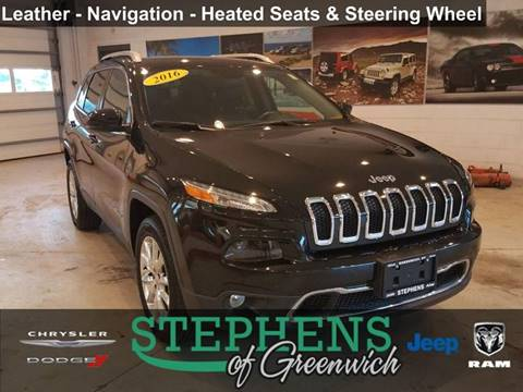2016 Jeep Cherokee for sale in Greenwich, NY