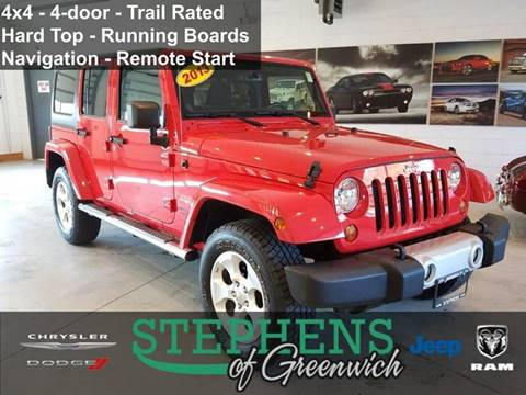2013 Jeep Wrangler Unlimited for sale in Greenwich, NY