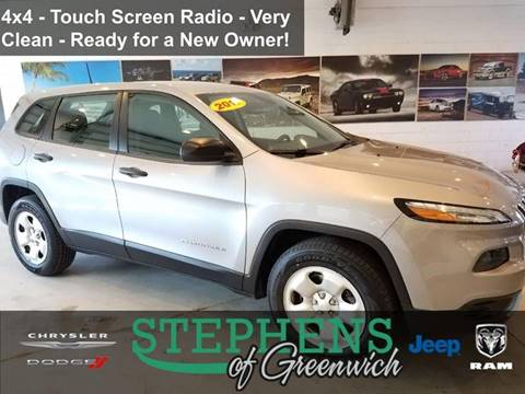 2017 Jeep Cherokee for sale in Greenwich, NY