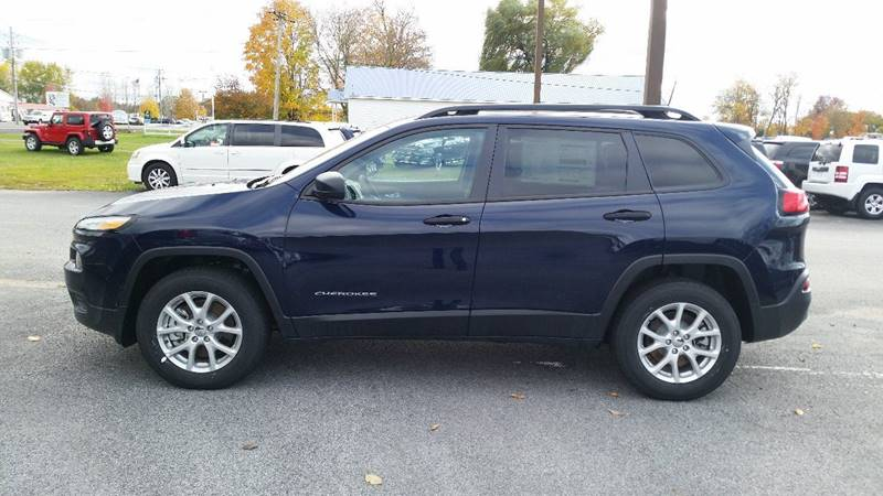 2016 Jeep Cherokee 4x4 Sport 4dr SUV - Greenwich NY