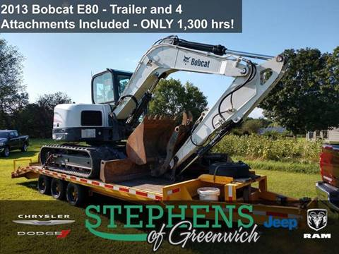 2013 Bobcat E80 for sale in Greenwich, NY