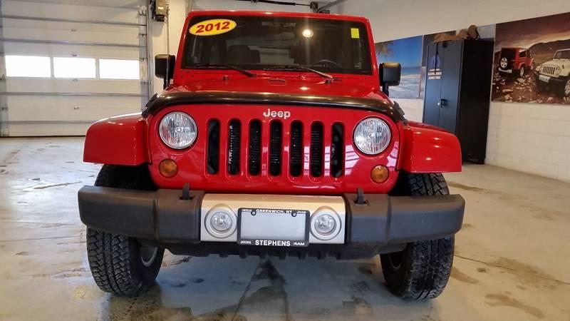 2012 Jeep Wrangler 4x4 Sahara 2dr SUV - Greenwich NY
