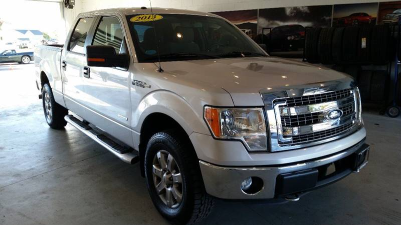 2013 Ford F-150 4x4 XLT 4dr SuperCrew Styleside 6.5 ft. SB - Greenwich NY
