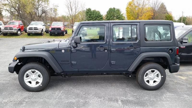 2016 Jeep Wrangler Unlimited 4x4 Sport 4dr SUV - Greenwich NY