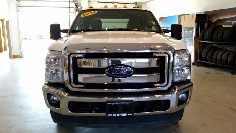 2015 Ford F-350 Super Duty 4x4 XLT 4dr Crew Cab 8 ft. LB DRW Pickup - Greenwich NY