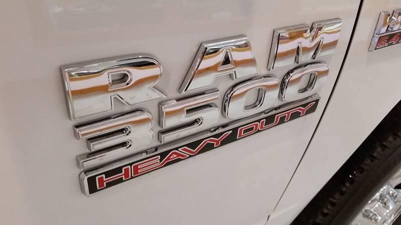 2016 RAM Ram Pickup 3500 4x4 Tradesman 4dr Crew Cab 8 ft. LB Pickup - Greenwich NY