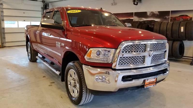 2015 RAM Ram Pickup 3500 4x4 Laramie 4dr Crew Cab 8 ft. LB Pickup - Greenwich NY