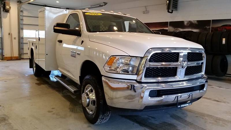2016 RAM Ram Chassis 3500 4x4 Tradesman 2dr Regular Cab 167.5 in. WB Chassis - Greenwich NY