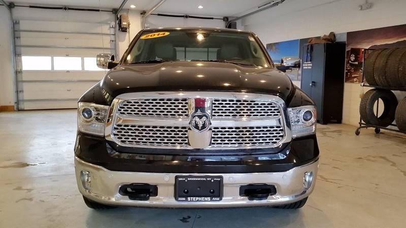 2014 RAM Ram Pickup 1500 4x4 Laramie 4dr Crew Cab 5.5 ft. SB Pickup - Greenwich NY