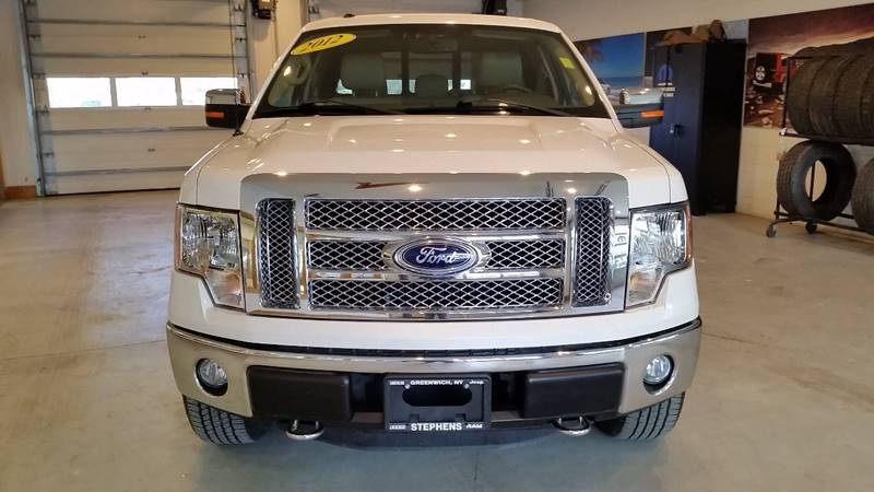 2012 Ford F-150 4x4 Lariat 4dr SuperCab Styleside 6.5 ft. SB - Greenwich NY
