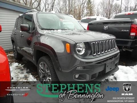 2018 Jeep Renegade for sale in Bennington, VT