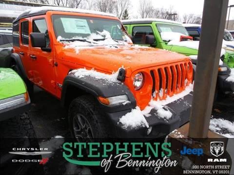 2018 Jeep Wrangler Unlimited for sale in Bennington, VT