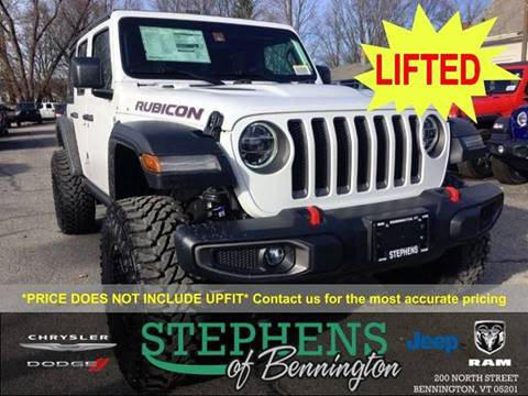 2019 Jeep Wrangler Unlimited for sale in Bennington, VT