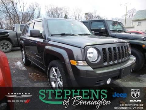 2014 Jeep Patriot for sale in Bennington, VT