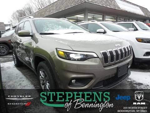2019 Jeep Cherokee for sale in Bennington, VT