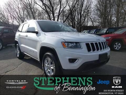 2015 Jeep Grand Cherokee for sale in Bennington, VT