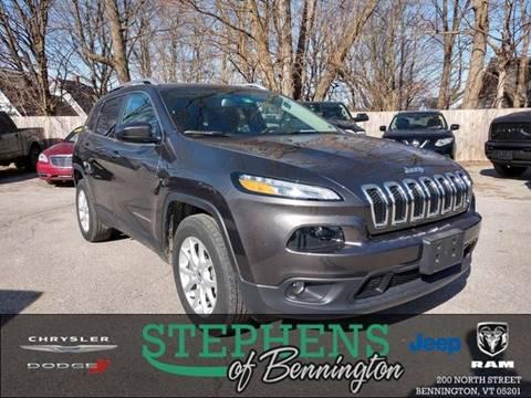 2016 Jeep Cherokee for sale in Bennington, VT
