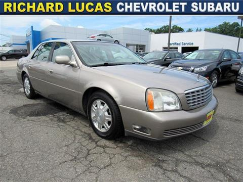 2004 Cadillac DeVille for sale in Avenel, NJ