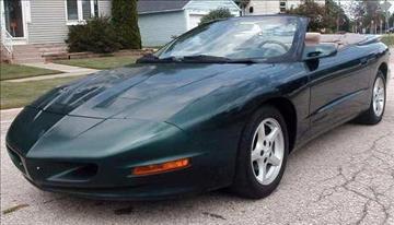 1996 Pontiac Firebird for sale in Fond Du Lac, WI