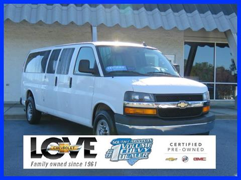 2017 Chevrolet Express Passenger for sale in Columbia, SC