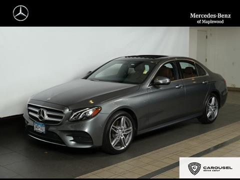 2017 Mercedes-Benz E-Class for sale in Maplewood, MN