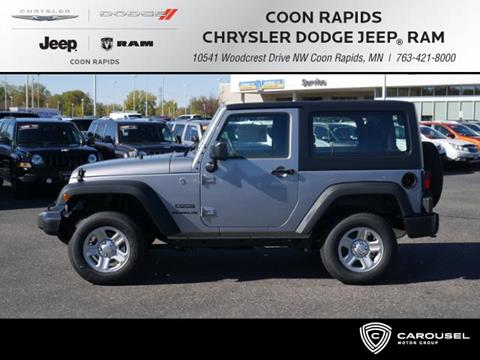 2017 Jeep Wrangler for sale in Coon Rapids, MN