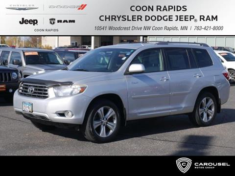 2008 Toyota Highlander for sale in Coon Rapids, MN