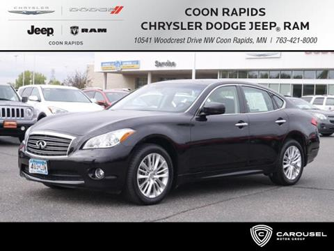 2012 Infiniti M37 for sale in Coon Rapids, MN