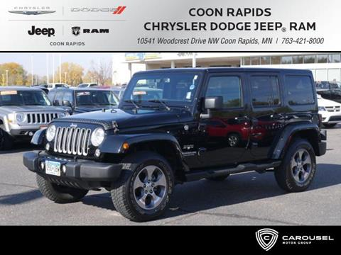 2016 Jeep Wrangler Unlimited for sale in Coon Rapids, MN